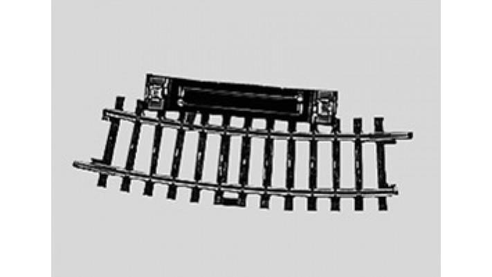 Rail à pédale  r360 mm,15 Gr.
