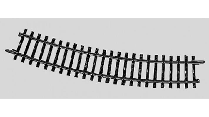 Rail courbe  r424,6 mm,22 Gr.30'