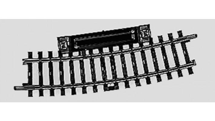 Rail à pédale  r424,6mm,15 Gr.