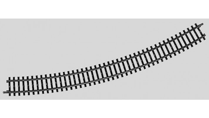 Rail courbe  r618,5 mm,30 Gr.