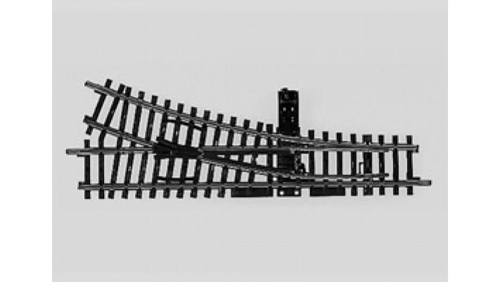 Aiguillage manuel droit  r424,6 mm