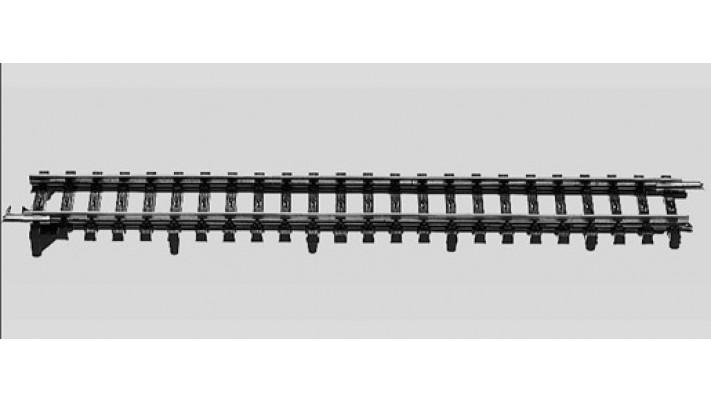 Rail de transition voie K - M
