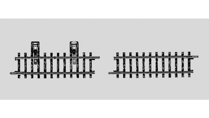 Rail de contact 180 mm