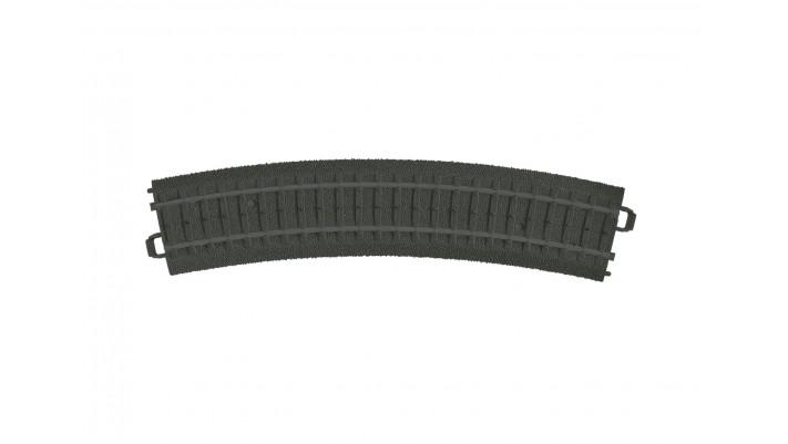 Elément de voie courbe en plastique R1 MyWorld
