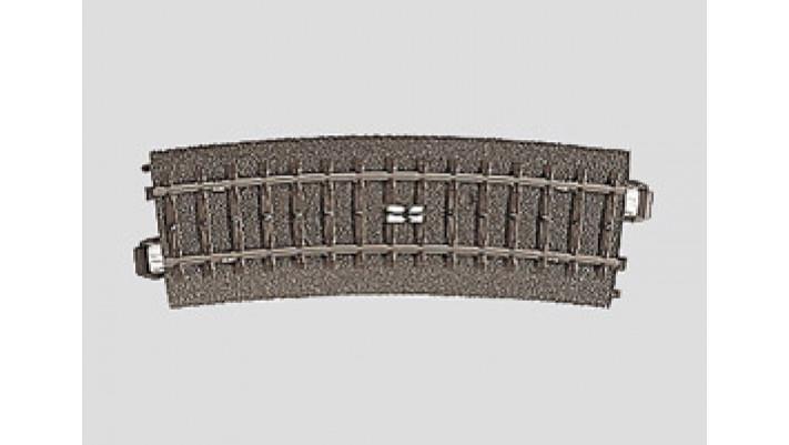 Rail à pédale courbe  r437,5 mm,15
