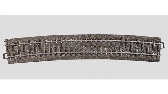 Rail courbe  r1114,6 mm,12,1 Gr.