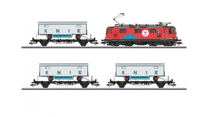 Zugpackung 100 Jahre Knie SBB