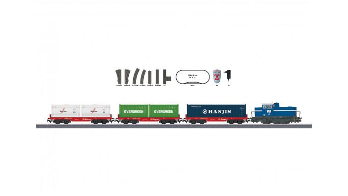 Coffret de départ Train-bloc de conteneurs 230V
