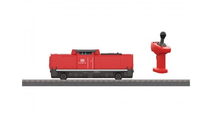 Locomotive diesel BR 212 avec accu MyWorld
