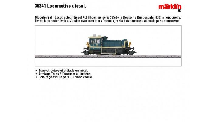 Diesellok K? III DB
