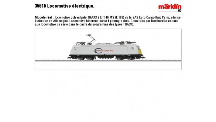 E-Lok BR 186 EuroCargoRail