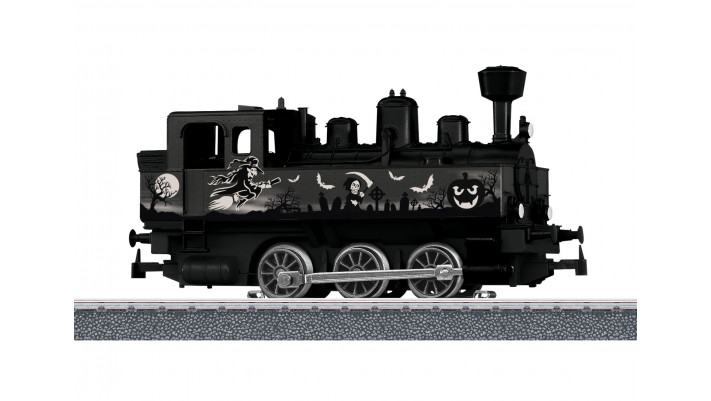 Start up Dampflokomotive Halloween