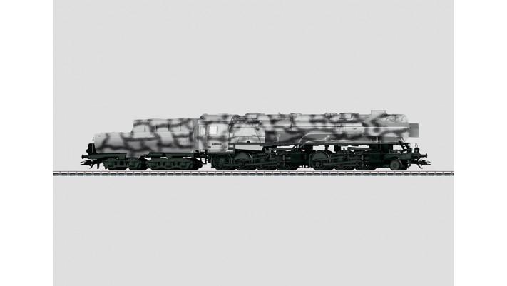 Locomotive à vapeur avec tender bassine BR53