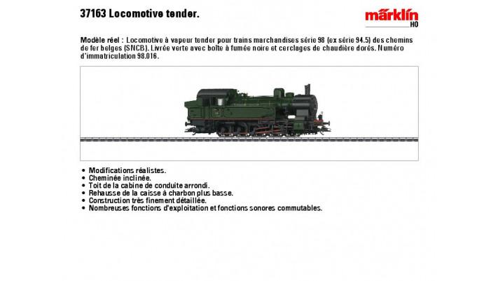 G?erzug-Tenderlok Serie 98 S