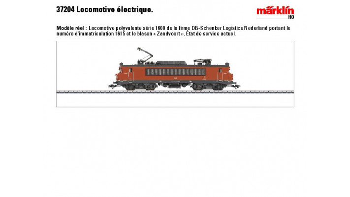 Mehrzwecklok Serie 1615 NS/DB