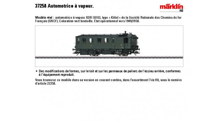 Dampftriebwagen Kittel SNCF