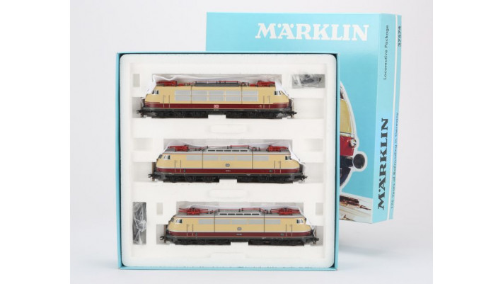 Coffret de locomotives