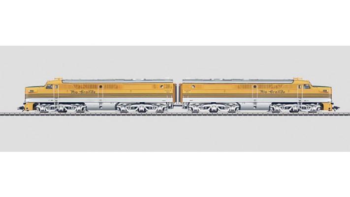 Locomotive ALCO  RIO GRANDE