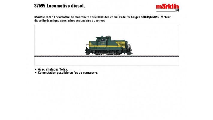 Diesellok Serie 8000 SNCB