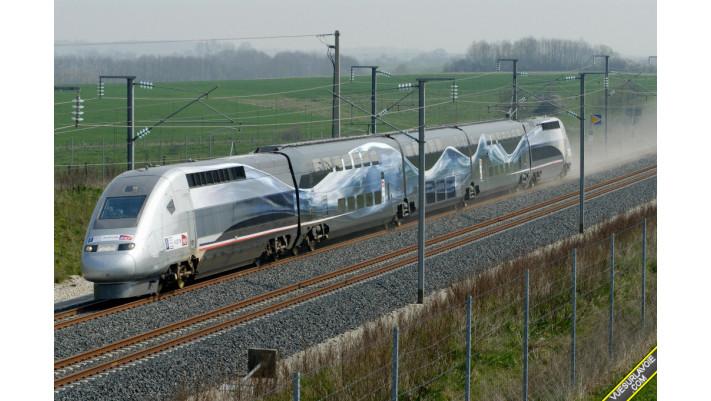 TGV Duplex V 150 , SNCF ,époque VI