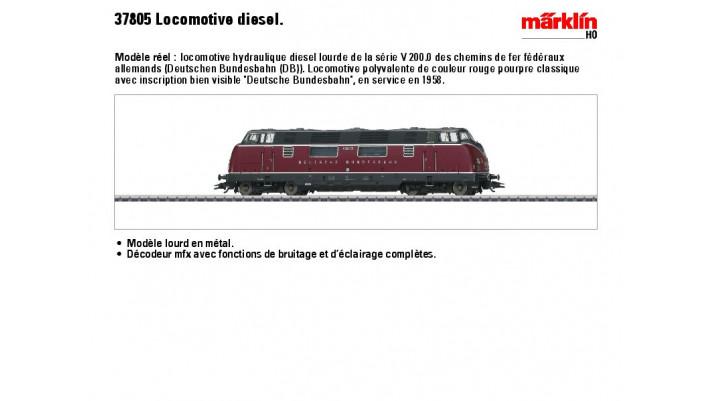 Diesellok V 200 DB