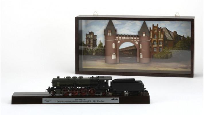 Locomotive P10– transport de personnes avec système de raccordement
