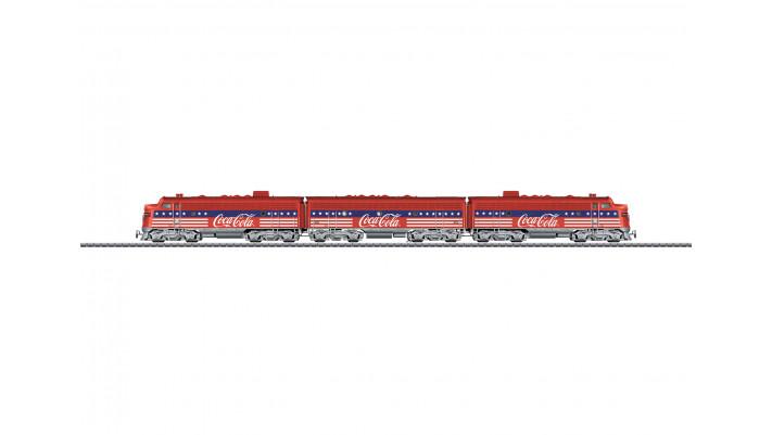 Locomotive diesel-électrique F7 , privat ,époque ----------