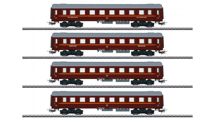 Personenwagen-Set z. Reihe Da, BJ, Ep.VI - limitiert!
