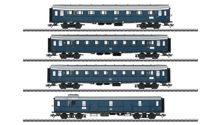 Coffret de voitures de grandes lignes DB
