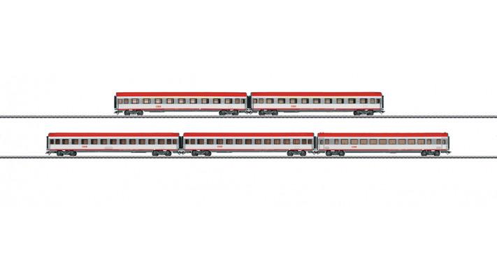 EC-Schnellzugwagen-Set ÖBB