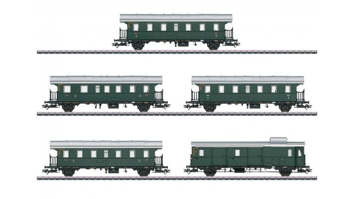 Wagenset zur BR 78.10  DB - insider