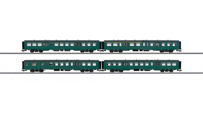 Nahverkehrswagen-Set M2 SNCB