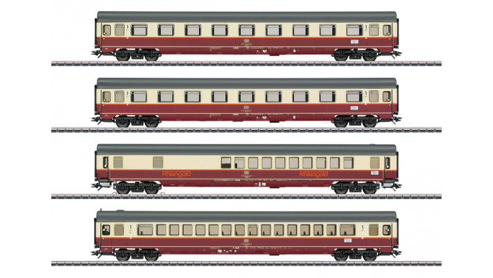 Rheingold Offshoot Train  Passenger Car Set