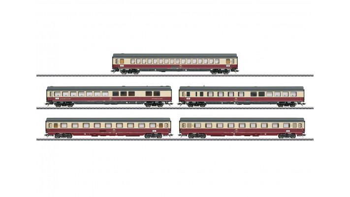 Coffret de voitures de grandes lignes TEE 32 Parsifal - DB époque IV