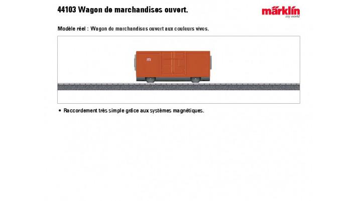 Offener G?erwagen (Magnetkup)  MyWorld