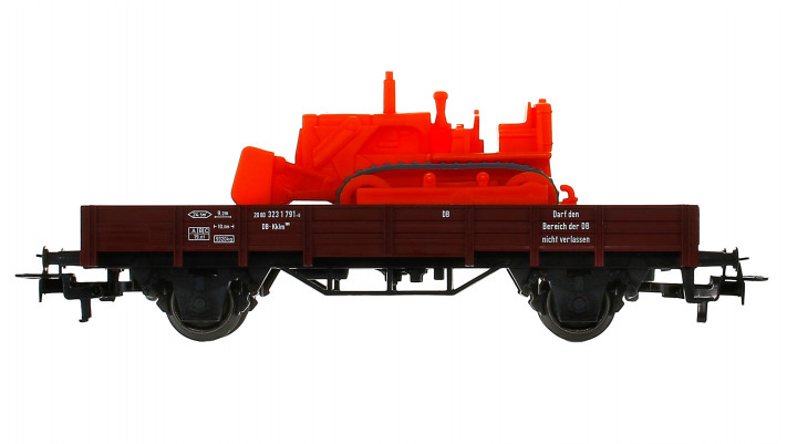 Wagon à bords bas DB