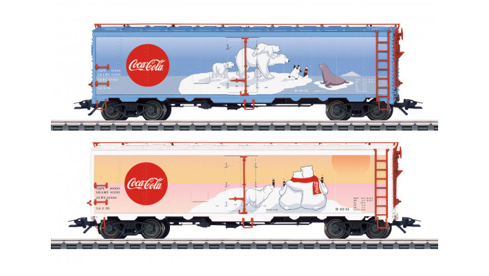 Kühlwagen-Set Coca Cola