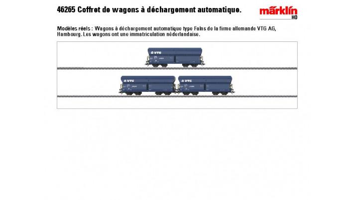 Selbstentladewagen-Set VTG NL