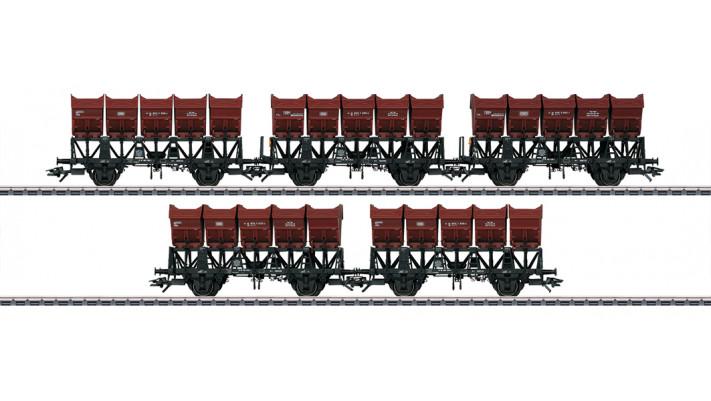 Muldenkippwagen-Set DB