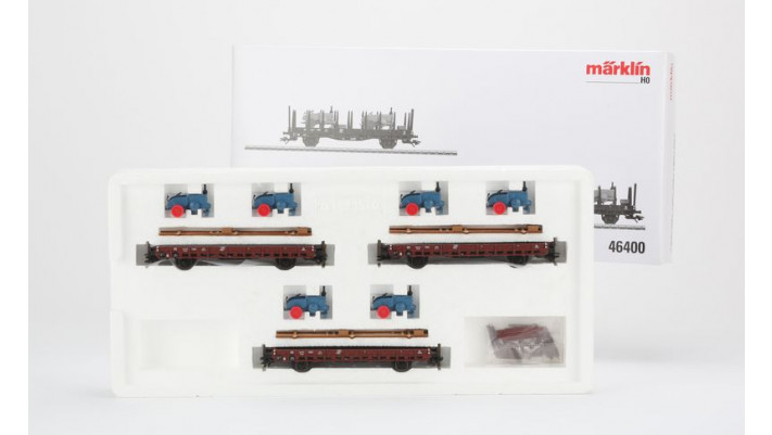 Coffret de 3 wagons à ranchers Rr 20       , DB, Ep.III