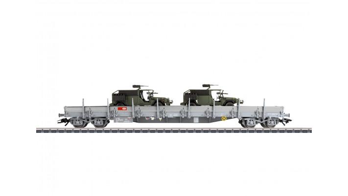 Wagon bords bas Res , SBB/CFF/FFS ,époque V