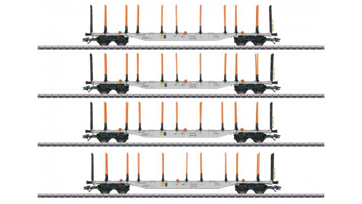 Tragwagen-Set ExTe-Schemel, 4 Wag.,RR,VI - 3. Q 2021