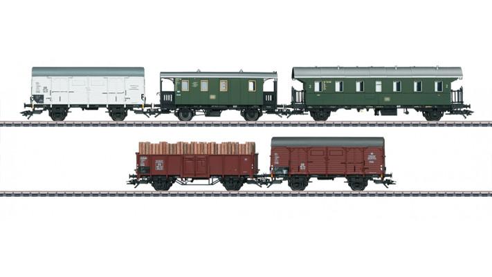 Güterwagen-Set GmP DB