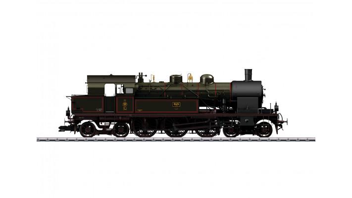 Locomotive tender à vapeur T18 , K.P.E.V. ,époque I