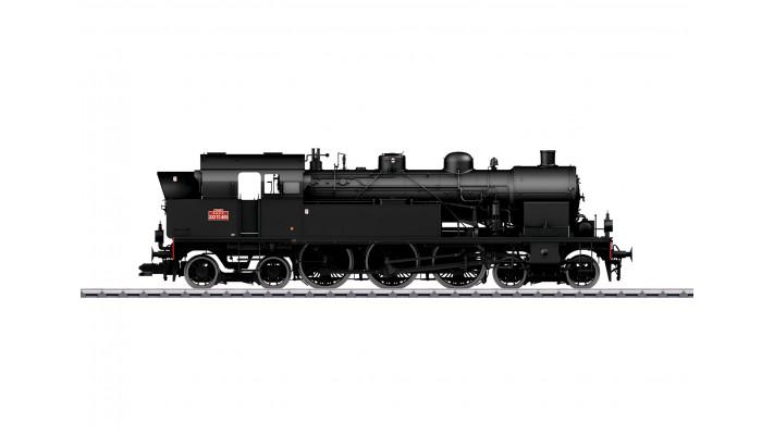 Locomotive-tender à vapeur série 232 TC , SNCF ,époque III