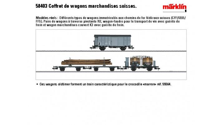 Wagen-Set SBB
