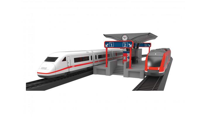 Märklin myworld - Quai de gare avec fonction lumineuse -