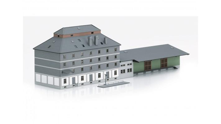 Bausatz H0 WLZ-Gebäude mit Markt