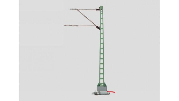 poteau de caténaire prise de courant