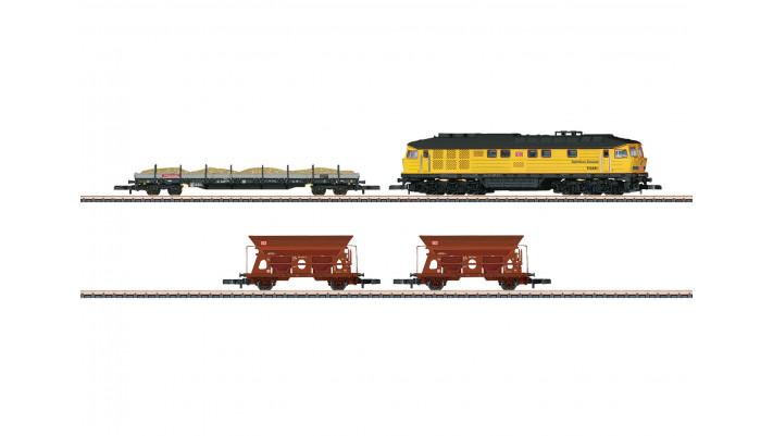 Coffret train-parc DB, construction de voie - DB époque VI